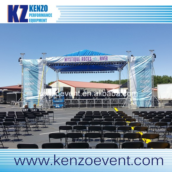 Cheap removable event <strong>stage</strong> truss system for sale