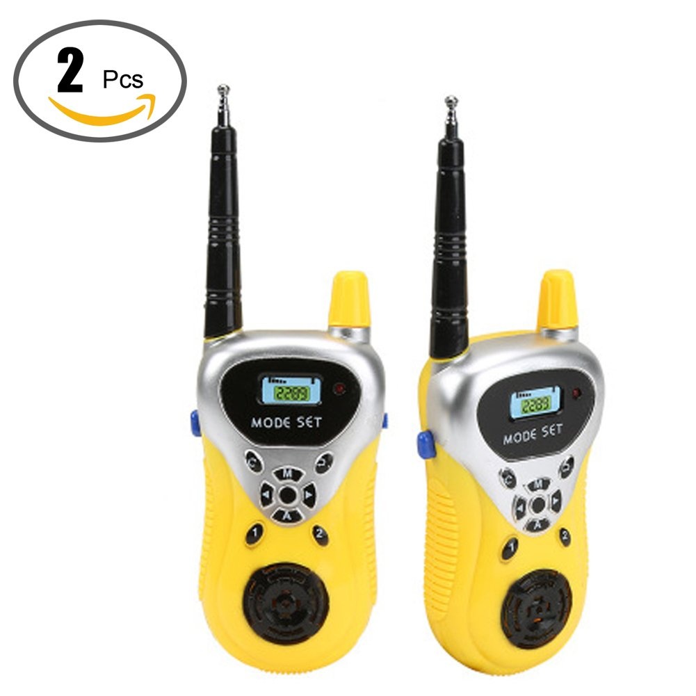 2 Pcs Walkie Talkies for Kids Two Way Radio Handheld Mini Walkie Talkies for Kids