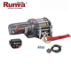 Factory Sale 12V 2000 lbs 12 v electric winch for ATV