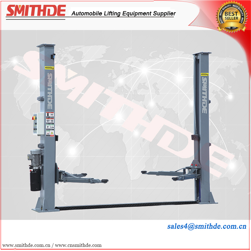 CE certified SMD40TPG Yantai Smithde used Auto Lifts Equipment /Two Post Lifts use for vehicle repairment