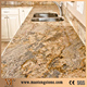 Kitchen Top With Stainless Steel Sink Golden Natural Stone Granite Precut Countertops