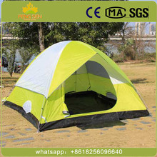 2 Person Small Ultra Light Waterproof Fireproof 3 Season Outdoor picnic fishing Custom Camping tent