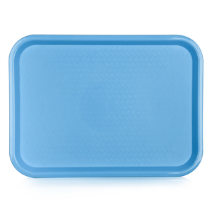 Manufacturing custom cheap plastic stackable lacquer fast food serving tray