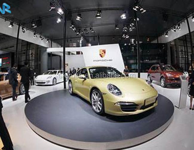 Rotating Car Garage Rotating Display Stand Revolving Stage Buy - Show car garage