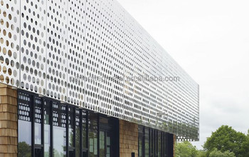 Perforated Metal Cladding/building Facades - Buy Perforated Metal  Cladding/building Facades,Exterior Building Facade,Decorative Perforated  Metal