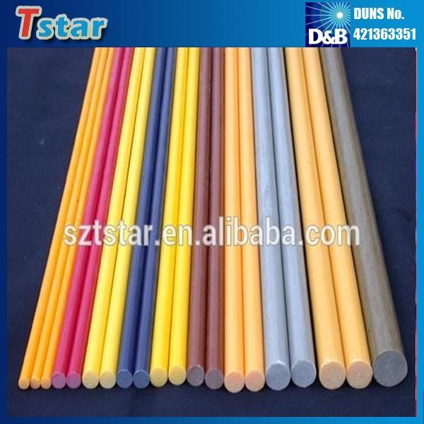 Venta caliente de alta flexible frp varilla barra de fibra - Barras de fibra de vidrio ...