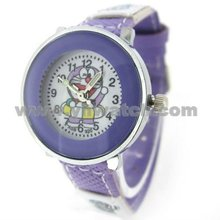 Purple color case and strap Promotional watches for kid