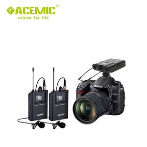 Saramonic Vmiclink5 Hifi 5.8Ghz Lavalier Lapel Wireless Microphone System For News Gathering & Reporting Work With DSLR Camera
