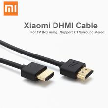 Original Xiaomi High Speed HDMI Cable 120cm for Xiaomi MI box 3 pro TV computer Projector Set Top BOX DVB 7.1 Surrond Stereo
