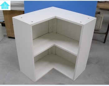 Cheap Melamine Particle Board Corner Base Cabinet Carcass