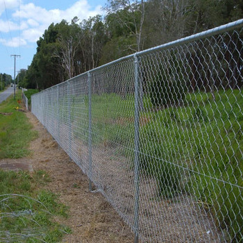 Welded Wire Mesh 8 Ft High Chain Link Fence For Wholesales
