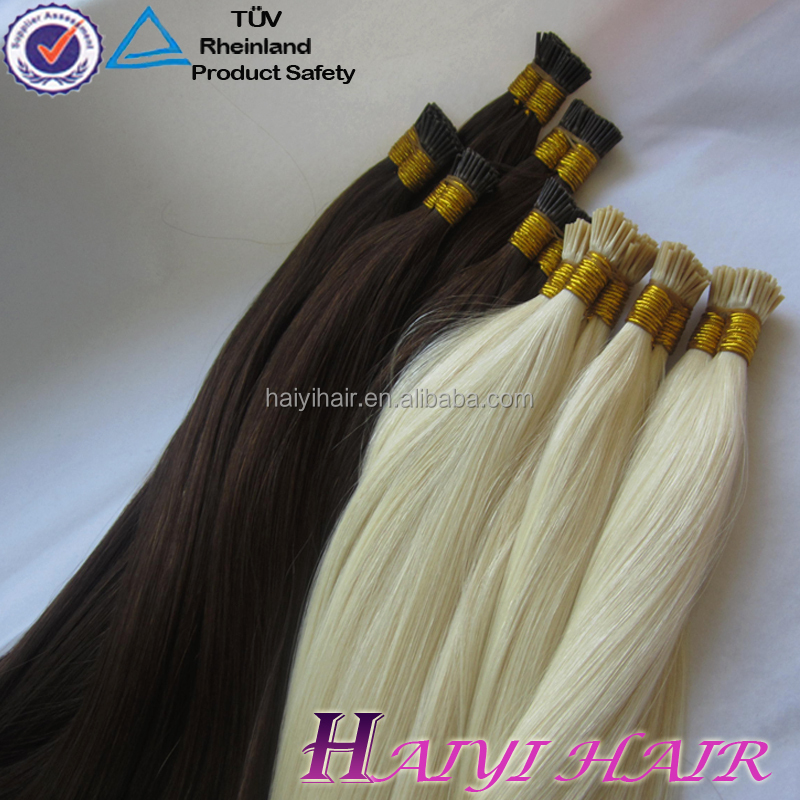 Wholesale Price Tangle Free No Shedding I Tip Hair Extension