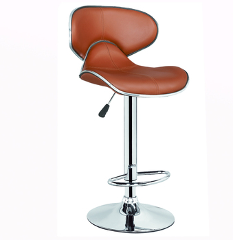Pleasing Xq 751A Sponge And Leather Cushioned High Back China Suppliers Commercial Bar Stool With Footrest Covers Buy Sponge And Leather Cushioned Bar Inzonedesignstudio Interior Chair Design Inzonedesignstudiocom