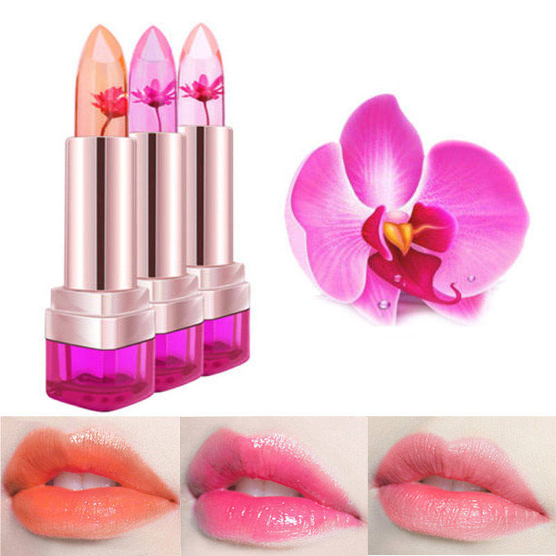 Kailijumei Flower Jelly Lipstick Temperature Change Color Lip Balm 144 710 Kwd