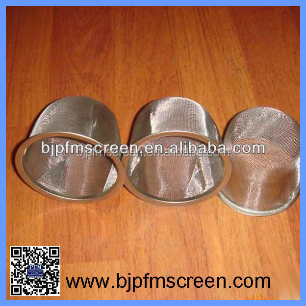 High Filter Rating Stainless Steel Tea Strainer Basket