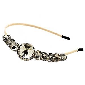 Smile Women's Girl's Hair Headband Hair Wear Hair Band Women Girl Elegant Crystal Rhinestone Jewelry HJ 351