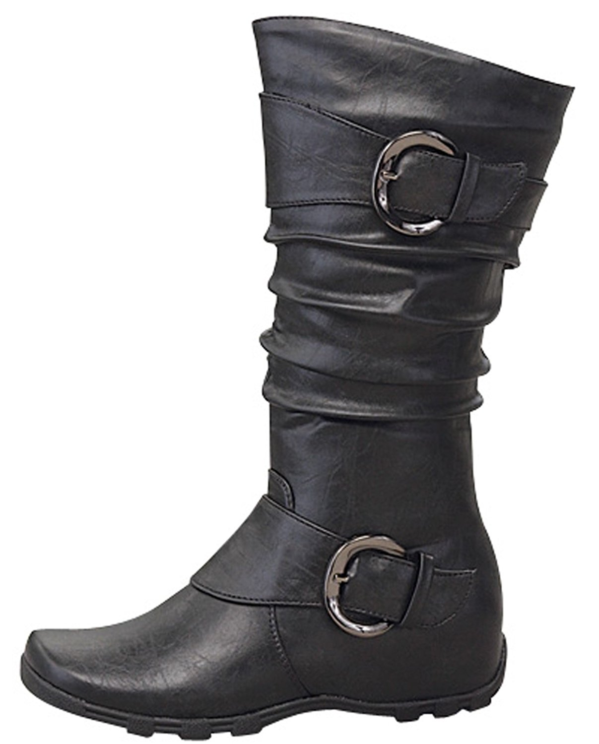 10445832f2df Get Quotations · Lucky Top Knee High Toddler girl Flat Dress Boots  Tmbest-83ks (Toddler 13