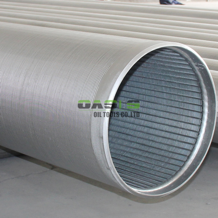 wedge wire water screen