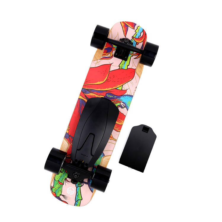 YouPai 2017 new design Canadian maple deck cheap boosted sport 4 wheel electric skateboard in electric scooter