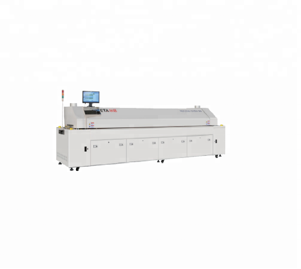 ETA SMD LED Mounting Machine Reflow Oven , Conveyor Reflow Oven, Oven Soldering SMD LED ( E10 ) With 10 Zones