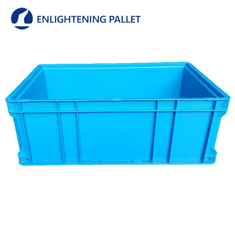HDPE plastic logistic turnover box for vegetables & fruits wholesale