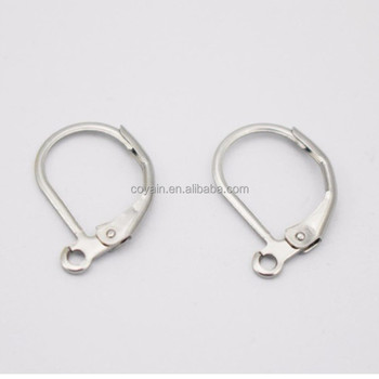 Nickel Free Silver Stainless Stess Steel Eearring Findings Hook