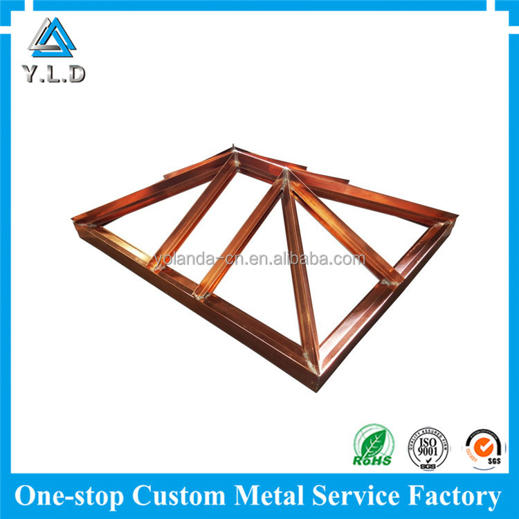 Cost-saving Metal Fabrication Custom Copper Structures Copper Welding Service