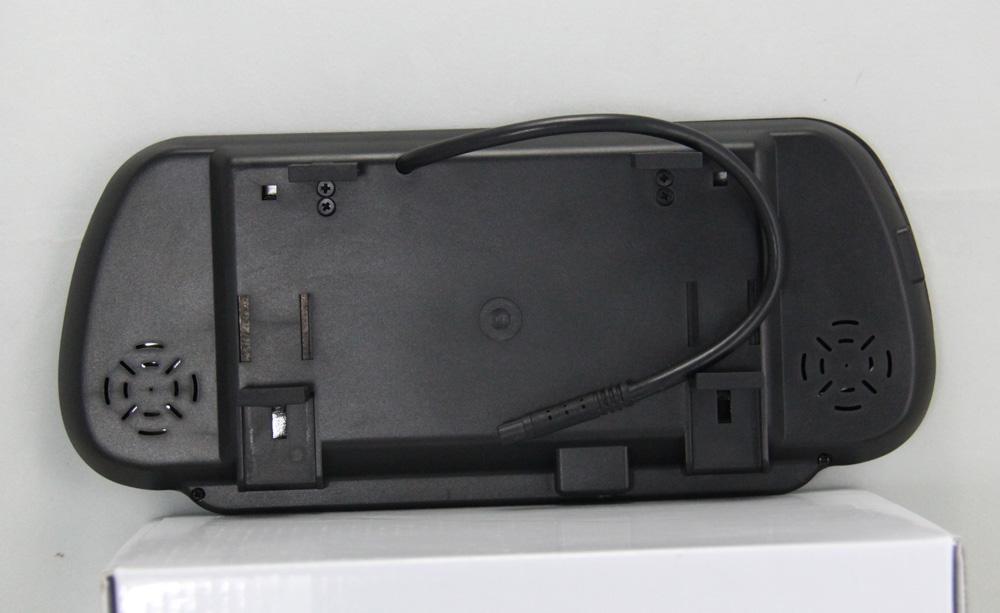 7 zoll lcd tft farb tft display spiegel monitor f r auto. Black Bedroom Furniture Sets. Home Design Ideas