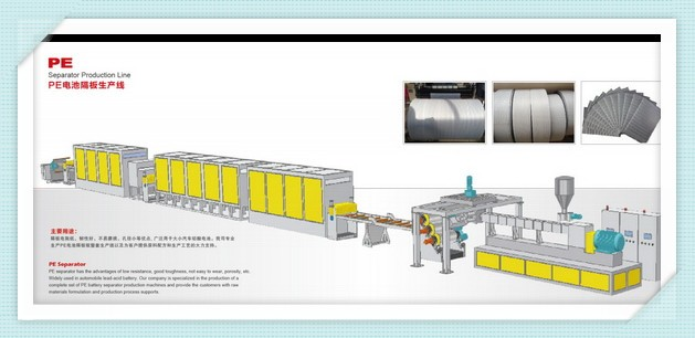 Professional high effeciency Anti abrasion Separator Production line