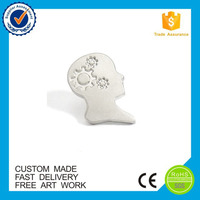Custom cheap plating metal pins silver head pins
