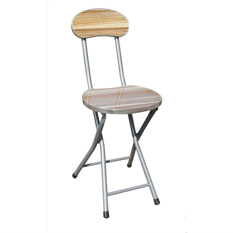 Small lightweight round folding stool with back support Modern metal folding chair Portable folding c&ing stool  sc 1 st  Alibaba & Small Lightweight Round Folding Stool With Back Support Modern ... islam-shia.org