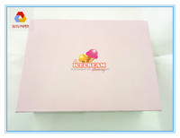 Recycle Cardboard Ice Cream Packaging Box for shipping