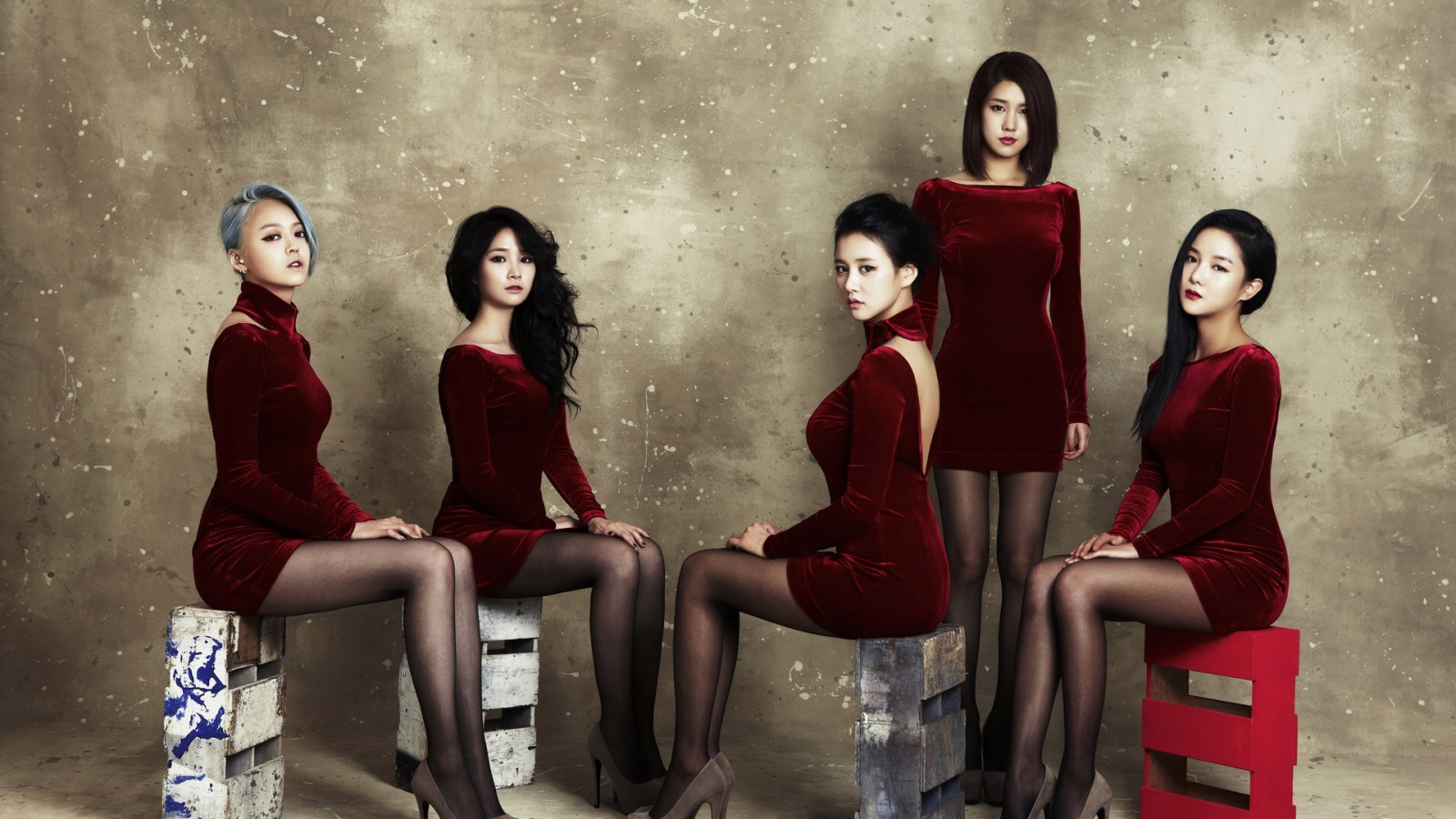 <font><b>Asian</b></font> oriental girls music band pop stars beauty lady women beautiful and sexy <font><b>Home</b></font> <font><b>Decoration</b></font> Canvas Poster