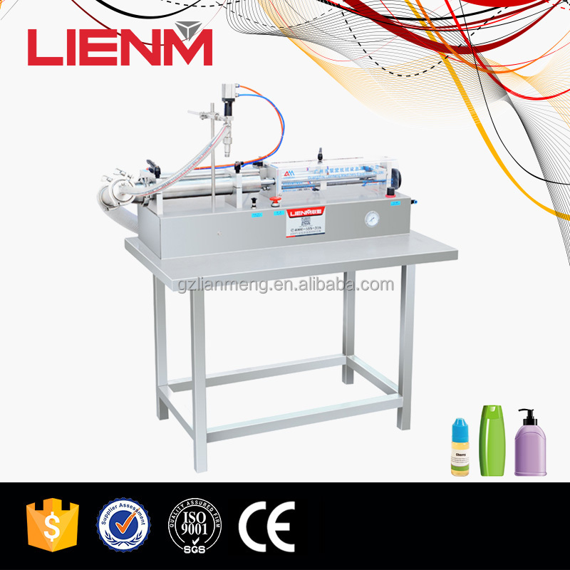 Manual Self Section Filler Liquid Filling Machine in Stainless Steel