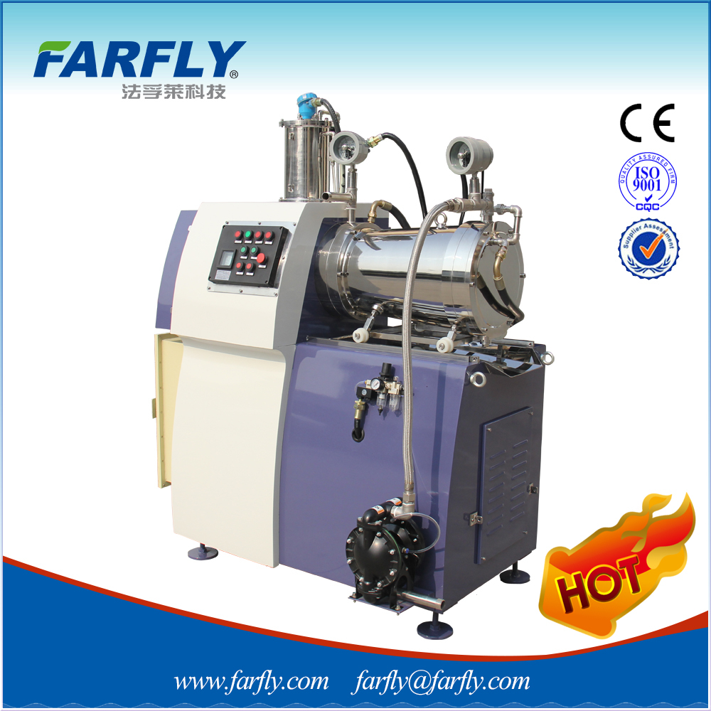 China Farfly FZS Conic pin-type horizontal sand mill/bead mill/grinding mill,mills
