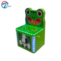 indoor coin operated games frog n ball arcade machine kids play mini ball games for sale
