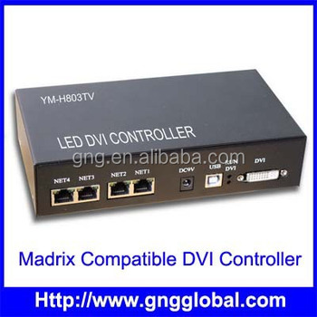 Dmx Ws2811 Dmx Controller With Madrix Software Music And Sound To Light -  Buy Dmx Ws2811 Dmx Controller,Programmable Led Controller,Programmable Led
