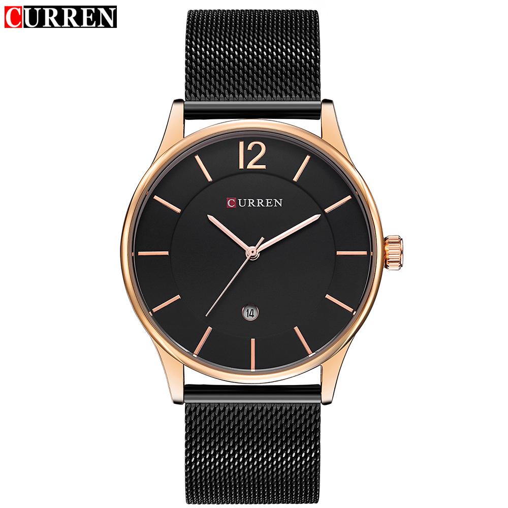 New Curren 8231 Men's Calendar Watches Ultra Thin Man Quartz Watch фото
