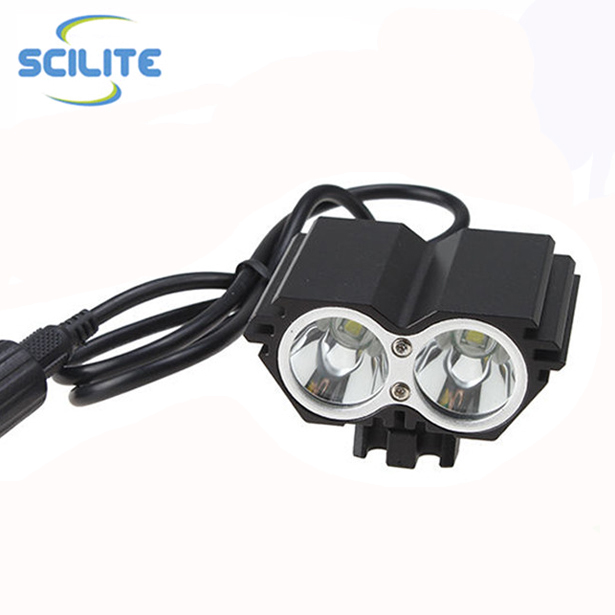 Super Bright LED Front LightS USB Rechargeable Bike Headlight Bicycle Helmet Light