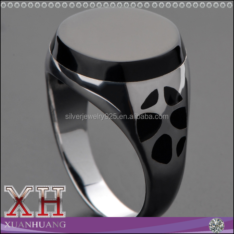 Fahion Style 925 Silver Men Ring Jewelry Type Wholesale