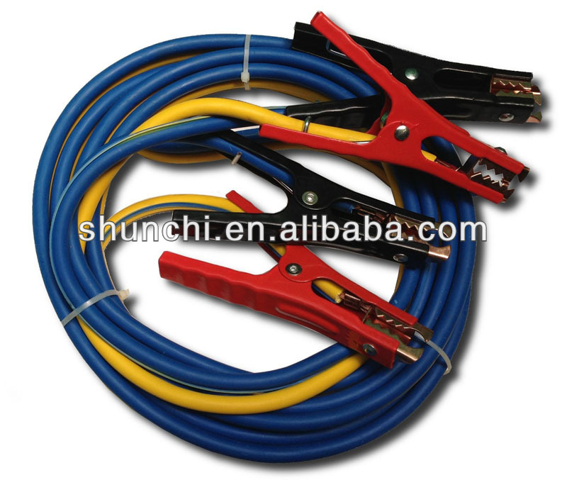 SUPER 16FT HEAVY DUTY 500 amp 6 gauge No Tangle Battery Booster cables,Jumper Cables
