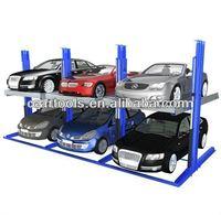 Home garage car lift hoist system