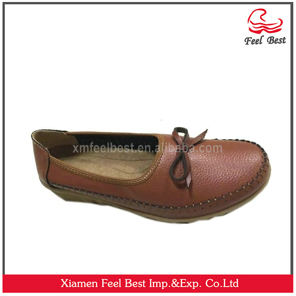Elegant kangaroo leather shoes