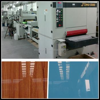 Otomatik Uv Sprey Boya Hattıotomatik Ahşap Kapı Boyama Makinesi Uv