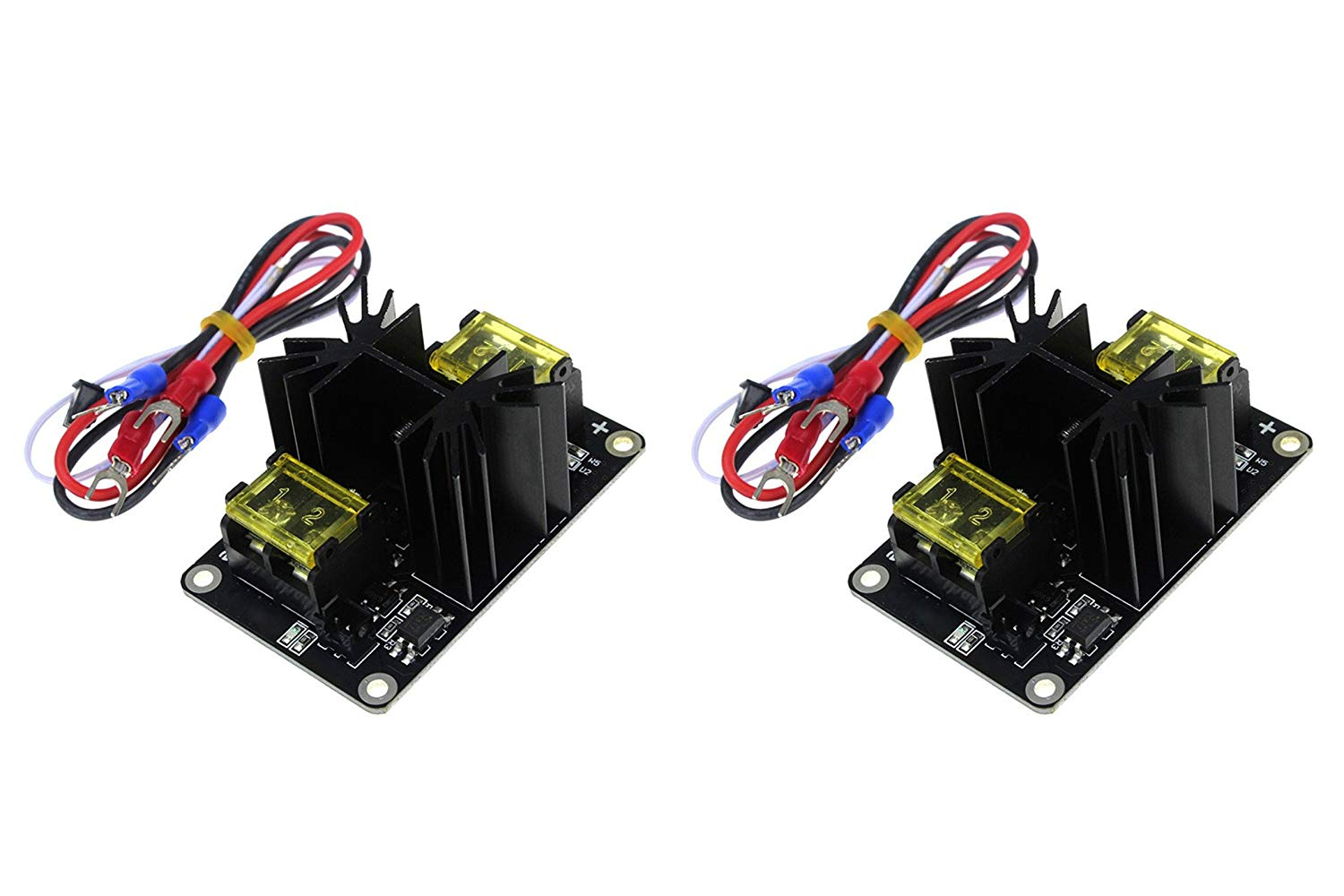 Active Components Intelligent 2pcs 30a Mos Tube Heat Bed Power Module Expansion Board Mos Tube Hotend Replacement With Cables For 3d Printer Parts Electronic Components & Supplies