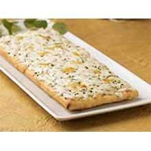 Tonys 51 Percent Whole Grain Cheesy Garlic Flatbread, 3 x 8 inch -- 96 per case.