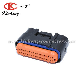 34 pins female waterproof JAE automotive connector MX23A34SF1 MX23A34XF1