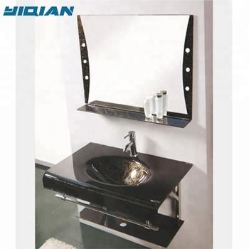 Wash Basin With Gl Shelf