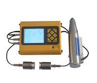 Portable ultrasonic rebound concrete compressive tester