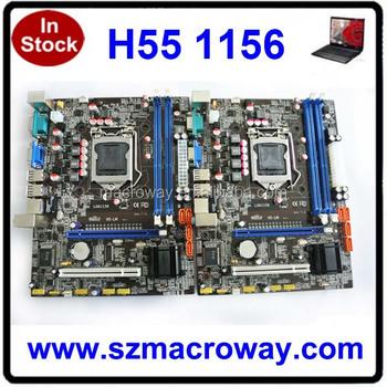 Ddr3 H55 Motherboard Socket Lga 1156 - Buy Ddr3 H55 Motherboard Socket Lga  1156,Intel Motherboard,Computer Motherboard Product on Alibaba com